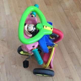 可摺合的三輪車