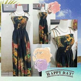 Flower Dress - M Besar To L