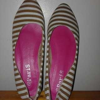 Stripe Shoes Size 39