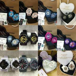 GSHOCK COUPLES WATCH