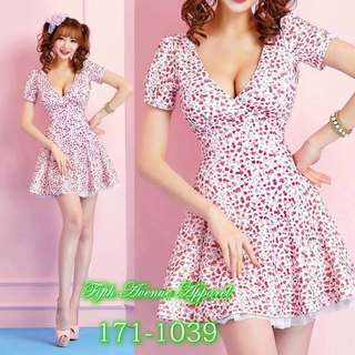 korean floral dress high quality
