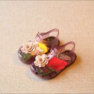 Kids Scented Jelly Shoes