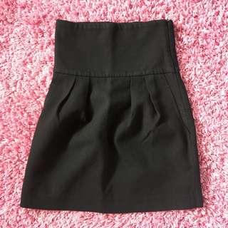 Zara Woman Black mini skirt