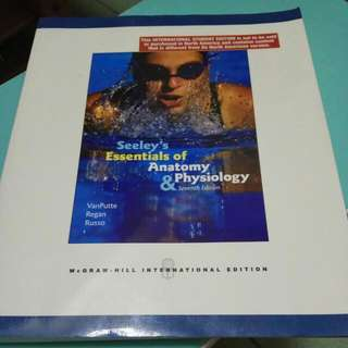 Seeley's Essentials of Anatomy and Physiology #一本只要一百元
