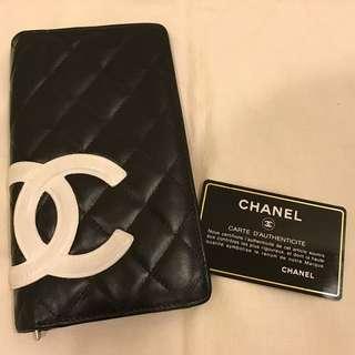 保證正品 Chanel 香奈兒 康朋 長夾