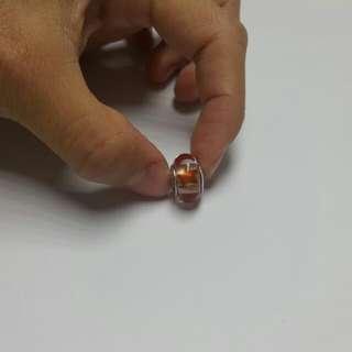 Pandora 星星琉璃 (橘紅色)