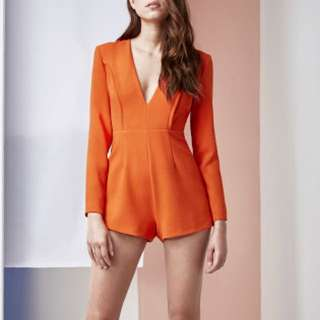 FINDERS KEEPERS Round Up Playsuit/jumpsuit/romper | Size S