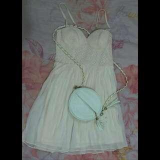 Mini Dress Tali Spagetty