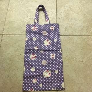 FREE Polka Dot Purple Long Bag