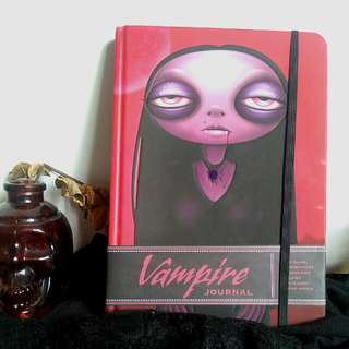 🆕 Vampire Journal With Lined, Blank, Gridded Pages