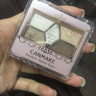 Canmake 5色眼影盤