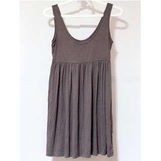 H&M Gray Cotton Dress