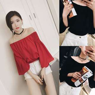 [PO] BELLE OFF SHOULDER TOP