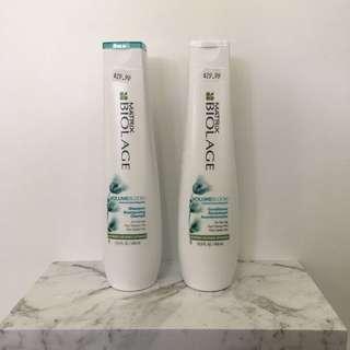 Matrix Biolage Volume Shampoo And Conditioner