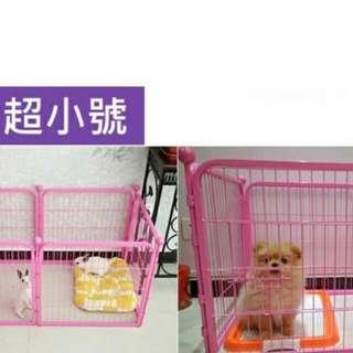 小中型寵物圍欄四片裝及六片裝