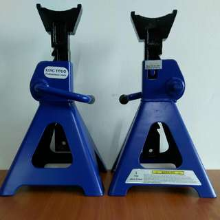 King Toyo 3 Tons Car Stand Tools Alatan Bengkel