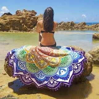 Beach Roundies / Beach Mat / Beach Towel