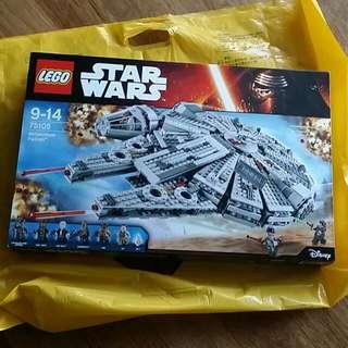 Lego Star Wars 75105 Millennium Falcon (Unopened)