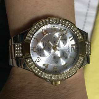 Guess Two Tone Watch