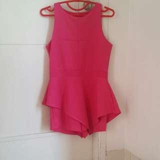 Jumpsuit Pink Fuschia