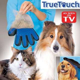 True Touch Deshedding Glove for Gentle and Efficient Pet Grooming*In-Stock*