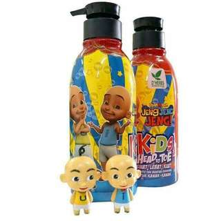 🌿D'Herbs Shampoo Upin Ipin Kids ~ Head To Toe (Limited stock)