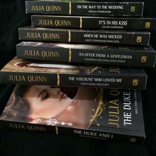 [6 Buku] Julia Quinn - The Bridgerton Series