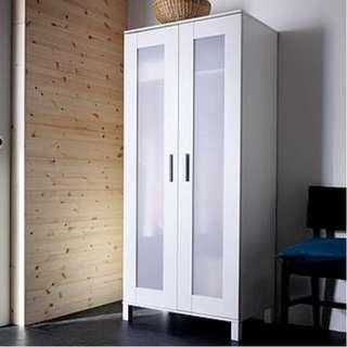 IKEA ANEBODA 2DOOR WARDROBE (USED)