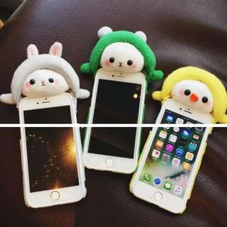 [PO] Animal Furry Handphone Casing Ip6 Ip7