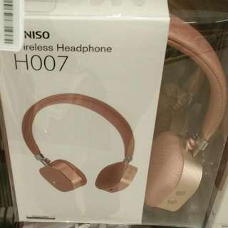 Headset Miniso Rose Gold