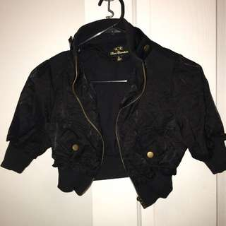 Short Sleeved Bomber Jacket