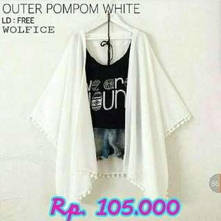 Outer Pompom White