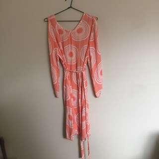 Boutique Split Sleeve Dress