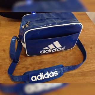 Blue Adidas Shoulder Bag