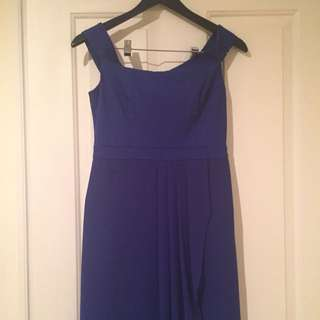 Forever New Blue Hi-Lo Dress