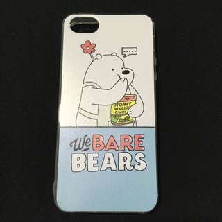 We Bare Bears Adorable Phone Cover Iphone 5/5s/SE