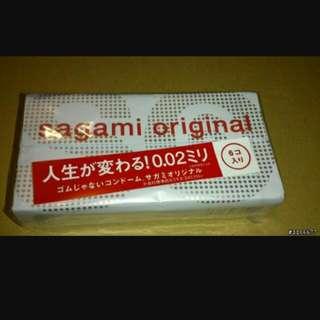 日本相模002 Sagami Original (6入/12入)上週日本帶回