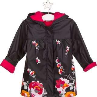Floral Magenta Raincoat