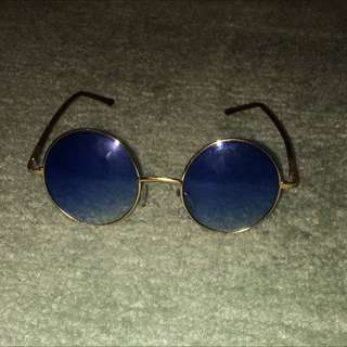 Vintage Blue Sunglasses