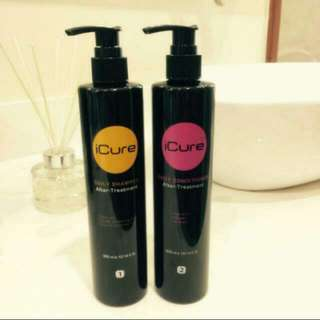 ICURE SHAMPOO AND CONDITIONER