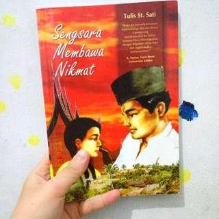 (sold) Novel Sengsara Membawa Nikmat