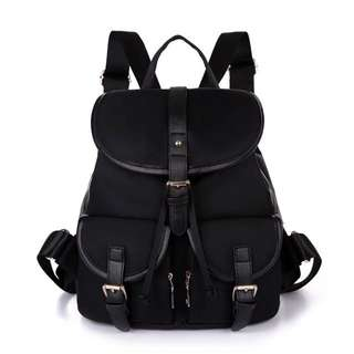 韓版超百搭尼龍後背包旅行包