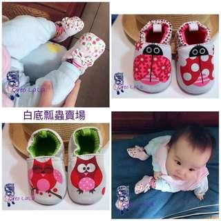 Oreo LaLa 🐈現貨 0-1歲純棉嬰兒軟底學步鞋秋冬保暖鬆緊帶款防滑鞋