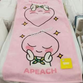(現貨包郵) Kakao Friends Apeach Towel 毛巾