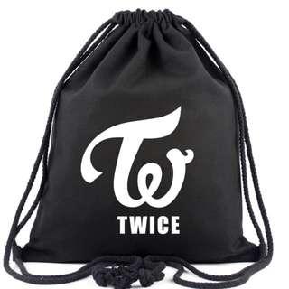 <PO> Twice Drawstring Bag