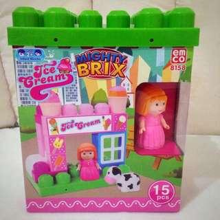 Blocks / brix EMCO Mighty Bricx 15 Pcs