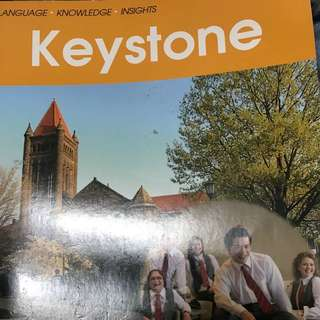 Keystone大學英文課本