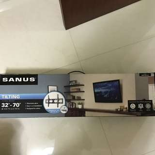 Sanus TV wall mount (Tiltable)
