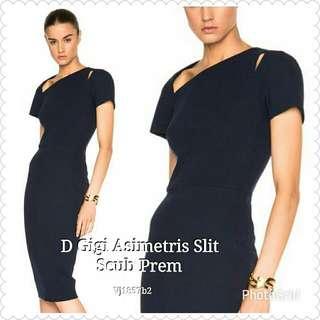 Dress Gigi Asimetris Slit