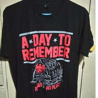 A Day To Remember - Authentic Shirt (No War, No Peace)